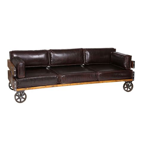 Sofa Industrial by Industrial Sofa Leather Sofa Warehouse