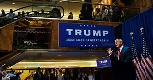 Donald Trump, Pushing Someone Rich, Offers Himself - The ...