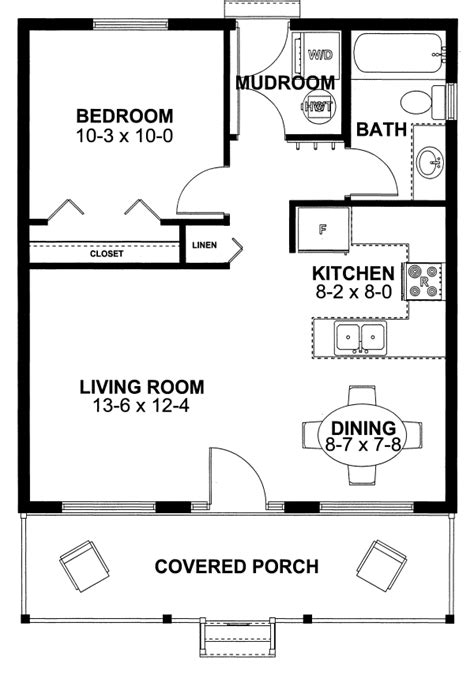 1 bedroom cabin plans house plan 99971 cottage vacation plan with 598 sq ft