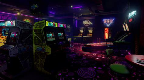 'new Retro Arcade Neon' Launches On Steam For Htc Vive