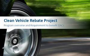 Program reports   Clean Vehicle Rebate Project