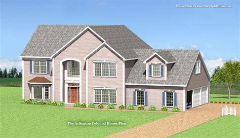 arlington modular colonial home plan