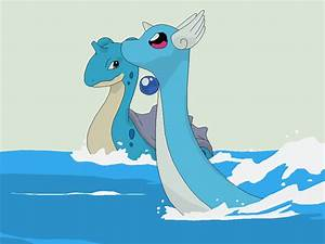 Pokemon Base 76~Lapras And Dragonair~ by Xbox-DS-Gameboy ...
