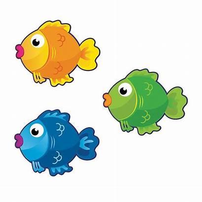 Fish Bulletin Board Cutouts Clipart Cartoon Clip