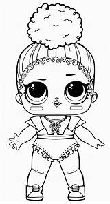 Lol Coloring Dolls Pages Surprise Outfit Dogs Impressive sketch template