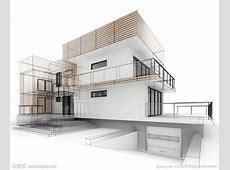 手绘建筑设计图__3D设计_3D设计_设计图库_昵图网nipiccom