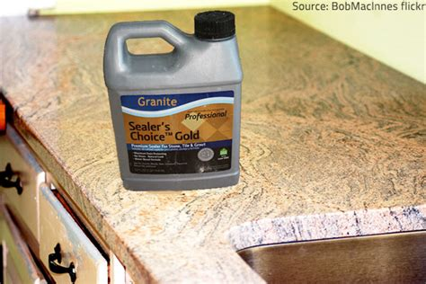 sealing granite countertops how a sealer protects your granite countertops