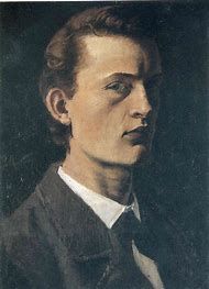 Edvard Munch Self Portrait