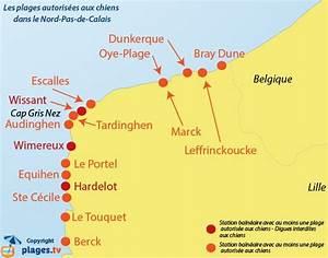 Liste Des Villes Du Nord : plages autoris es aux chiens nord pas de calais en 2019 ~ Medecine-chirurgie-esthetiques.com Avis de Voitures