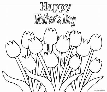 Coloring Grandma Pages Happy Mothers Printable Birthday