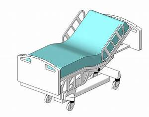 RevitCity.com   Object   Hill-Rom Patient Bed