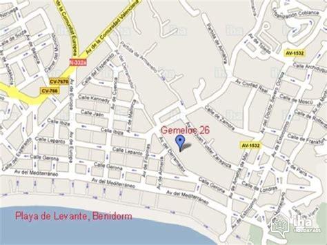 entree en cuisine location appartement à benidorm iha 57280