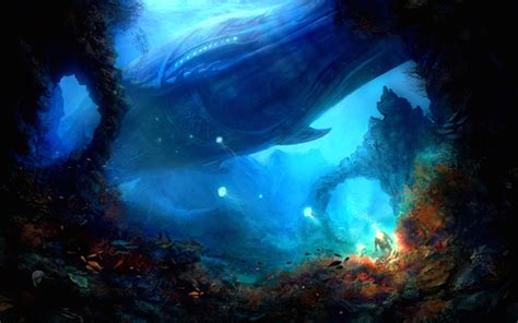 Ocean Fantasy Wallpaper-Free Fantasy Wallpapers