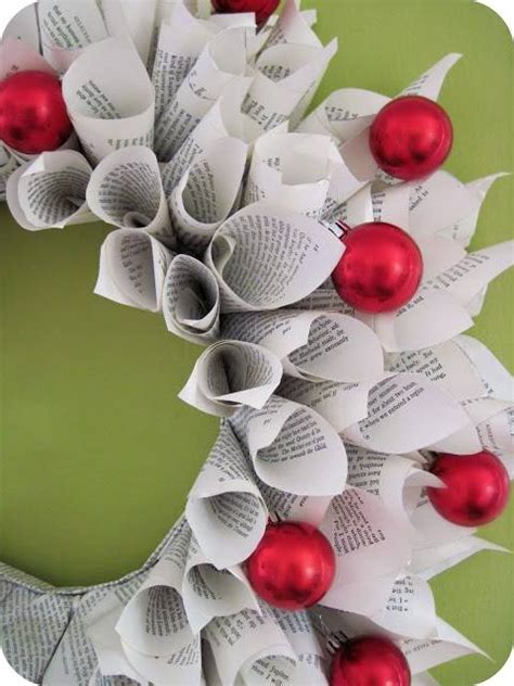christmas crafts with used books 7 heavenly crafts to make with books