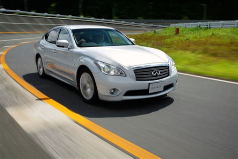 2011 Infiniti M35h - Steering And Brakes of the High ...