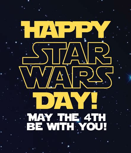Happy Star Wars Day! May the