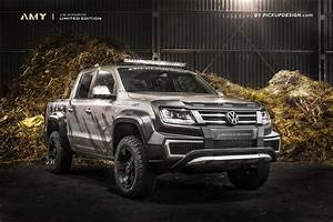 Pick Up Amarok : a modified exterior and custom interior make the perfect vw amarok carscoops ~ Medecine-chirurgie-esthetiques.com Avis de Voitures