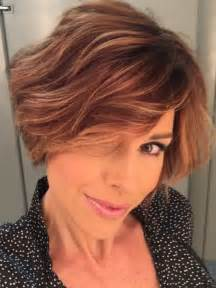 Dominique Sachse Short Bob Hairstyle