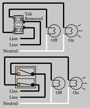 Duplex Outlet Wiring Diagram by Duplex Switches Electrical 101