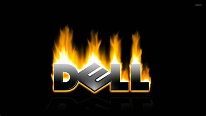 Dell Flaming Computers Wallpapers Computer