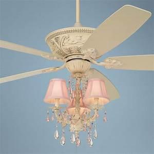 Quot casa vieja montego pretty in pink light kit ceiling fan