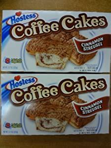 At hostess we care deeply about our customers and are committed to providing you with quality bakery products. Hostess Coffee Cakes Cinnamon Streusel 2 Boxes 16 Cakes ...
