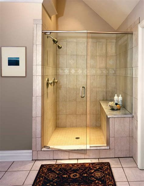 Bathroom Shower Enclosures With Seat by Bathroom Shower Stalls With Seats Wearefound Home Design