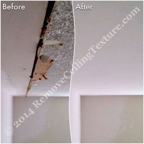 cost to remove popcorn ceiling with asbestos free stretch