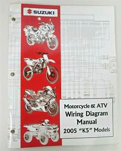 Suzuki Motorcycle  U0026 Atv Wiring Diagram Manual 2005 K5