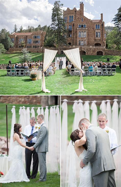colorado wedding  glen eyrie castle