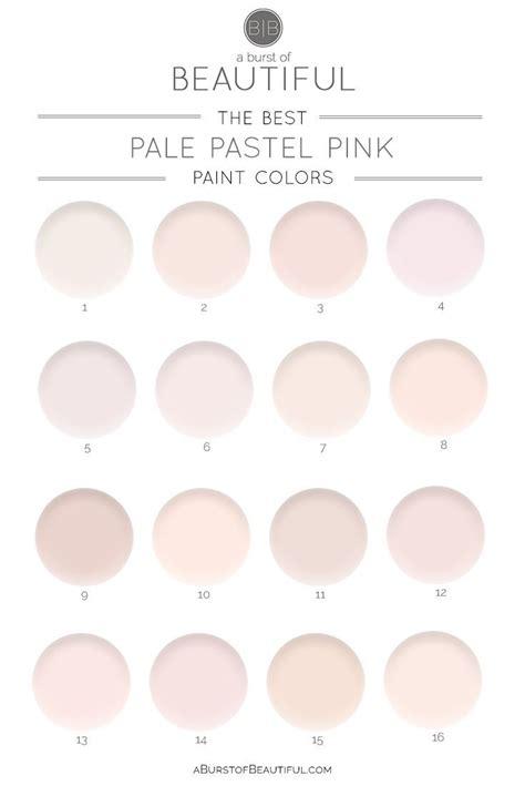 the best pale pink paint colors pink paint colors pale
