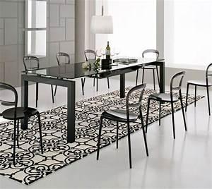 tapis salle a manger 50 idees pour choisir la forme With tapis pour salle à manger