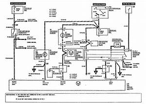 Mercedes-benz 300e  1990 - 1991  - Wiring Diagrams - Brake Controls