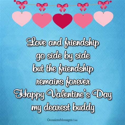 Best Valentine's Day Messages for Friends - Occasions Messages