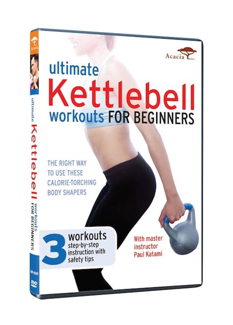 dvd workout kettlebell workouts training beginners ultimate strength kettle aerobic proven combining activity