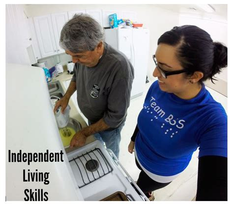 Independent Living Skills, Specialized Training, To