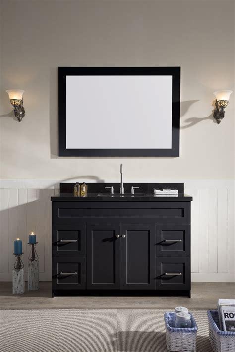 ariel hamlet  single sink vanity set  absolute