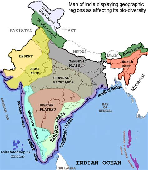 eastern and western ghats bio geographical regions of india himalayas thar