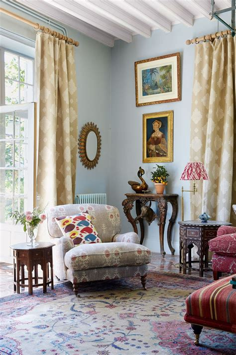 french country home  textiles dealer susan deliss