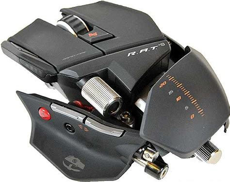 Mad Catz Cyborg Rat 9 Wireless Gaming Mouse