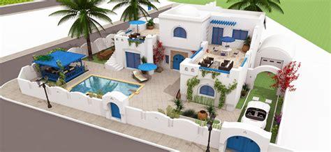 plan cuisine tunisienne villa djerba de 150m achat villa maison djerba tunisie