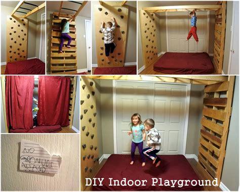 how to make an indoor wall diyjunglegym indoor monkey bars playground rock climbing wall kids activities functional
