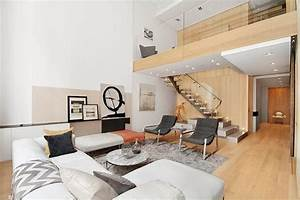 modern interior design of a duplex apartment in new york With interior design ideas for duplex apartment