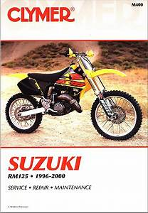 Suzuki Rm125 Repair  U0026 Service Manual 1996-2000