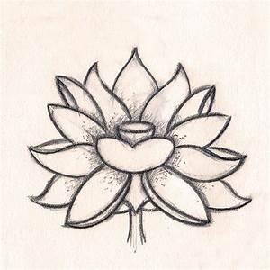 Dessin Fleurs De Lotus : le blog de ga l chapo padma croquis de fleur de lotus ~ Dode.kayakingforconservation.com Idées de Décoration