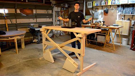 build a standing desk how to make a standing desk business insider