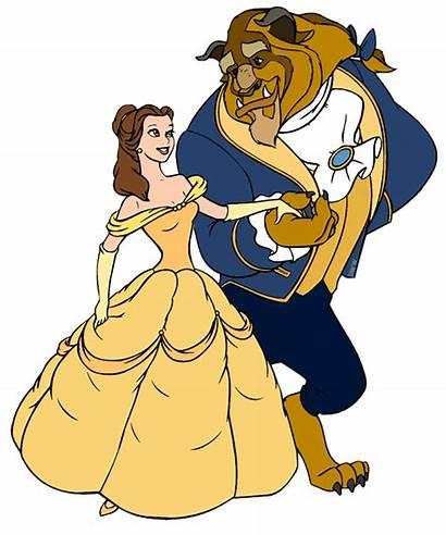 Beast Belle Clipart Clip Disney Transparent Galore