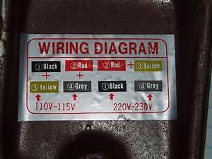 Wiring Motor For 110v Please Help