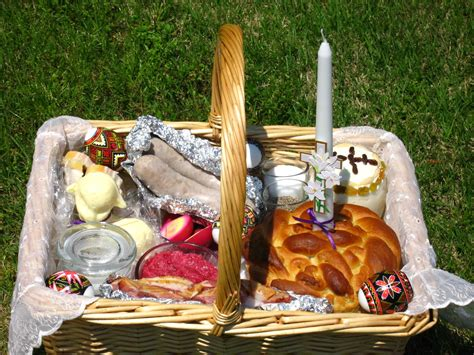 May this meal be blessed as we gather to celebrate together. Easter Basket for Blessing (My basket 2009) | Easter ...