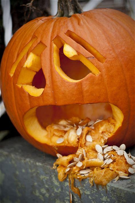 Pumpkin Throwing Up Guacamole by Vomiting Pumpkin Enze Images Flickr